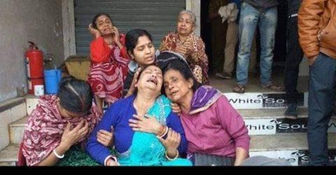 মৌলভীবাজার জুতার দোকানে অগ্নিকান্ড: একই পরিবারের ৫ জন নিহত