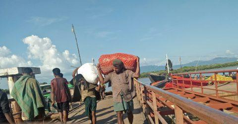 মিয়ানমার থেকে একদিনে এলো ৫৮৭মেট্রিকটন পেঁয়াজ