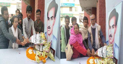 বরিশালে শহীদ আসাদ দিবসে গণসংহতি আন্দোলন ও  বাংলাদেশ ছাত্র ফেডারেশনের শ্রদ্ধাঞ্জলি অর্পণ