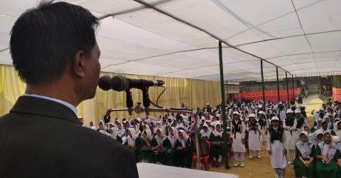 কাটিরহাট বালিকা উচ্চ বিদ্যালয়ে নবীন বরণ ও বিদায় সংবর্ধনা
