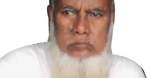 জগন্নাথপুরে শালিসি ব্যক্তি তেরাব আলী আর  নেই