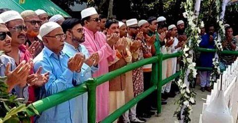 রংপুরে জাতীয় পার্টির প্রতিষ্ঠাতা চেয়ারম্যান এরশাদের জন্মদিন পালন