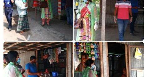 আটোয়ারীতে চার দোকানদার ও  অটো ভ্যান ওলাদের ভ্রাম্যমান আদালতের জরিমানা